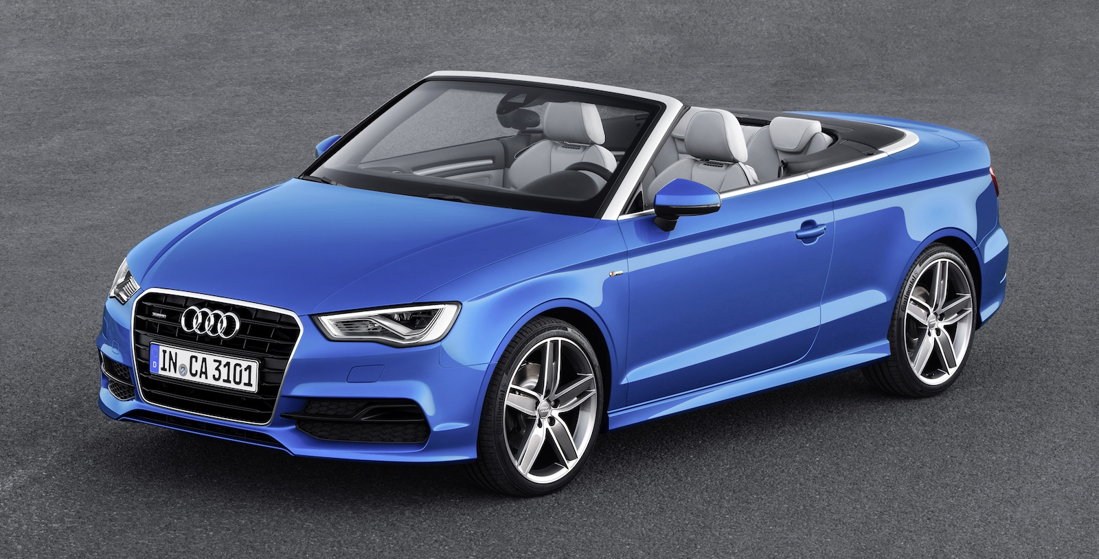 audi a3 cabriolet sedan based drop top revealed photos. Black Bedroom Furniture Sets. Home Design Ideas