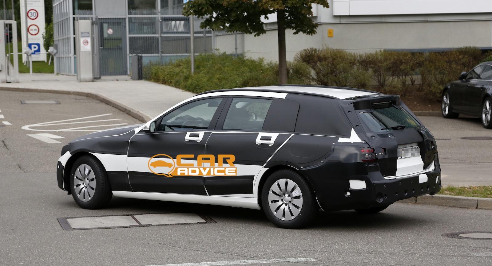 Creative MercedesBenz CClass Estate First Look At Nextgen Wagon