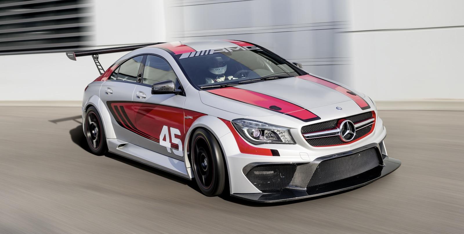 Mercedes benz cla45 amg racing series concept signals gt3 for Mercedes benz 3 series
