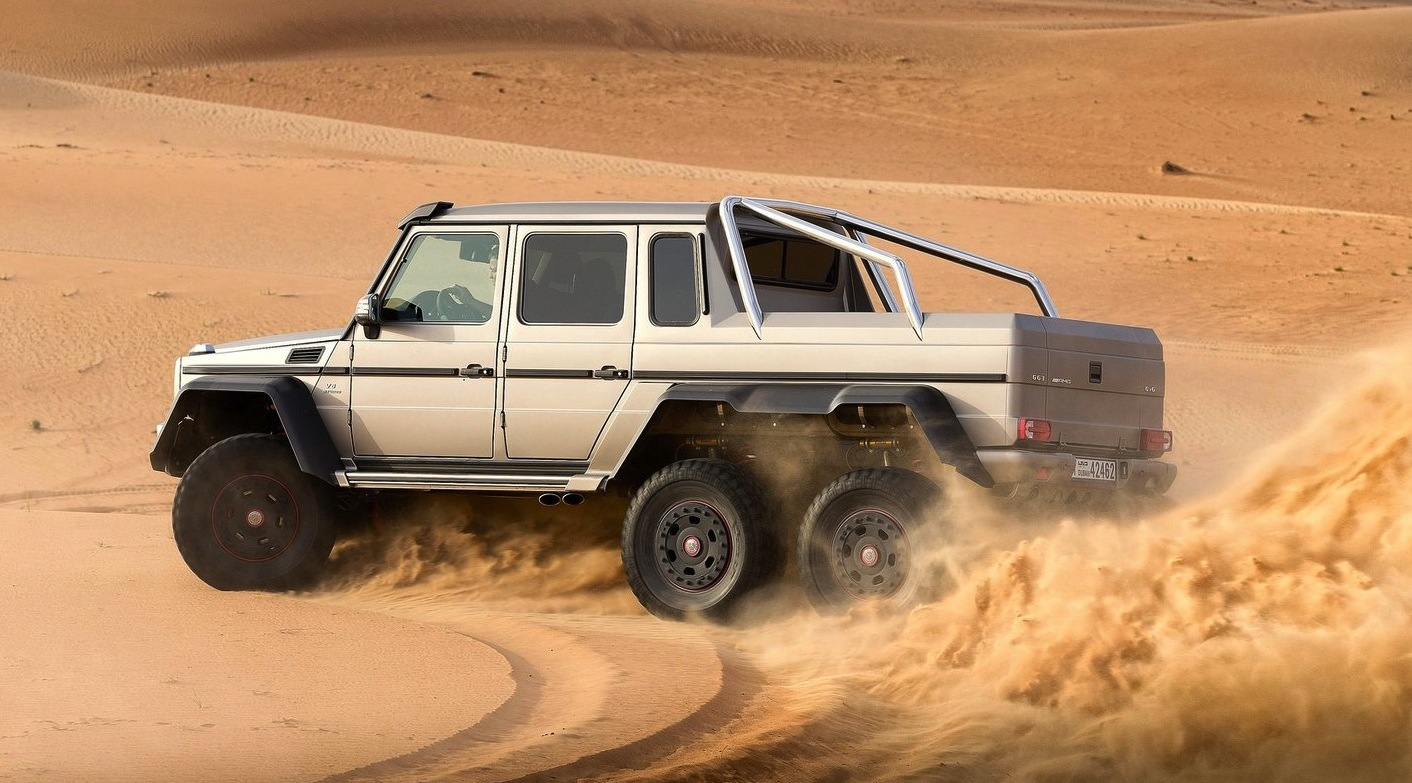 Mercedes benz g63 amg 6x6 priced at 547k photos 1 of 3 for Mercedes benz g63 price