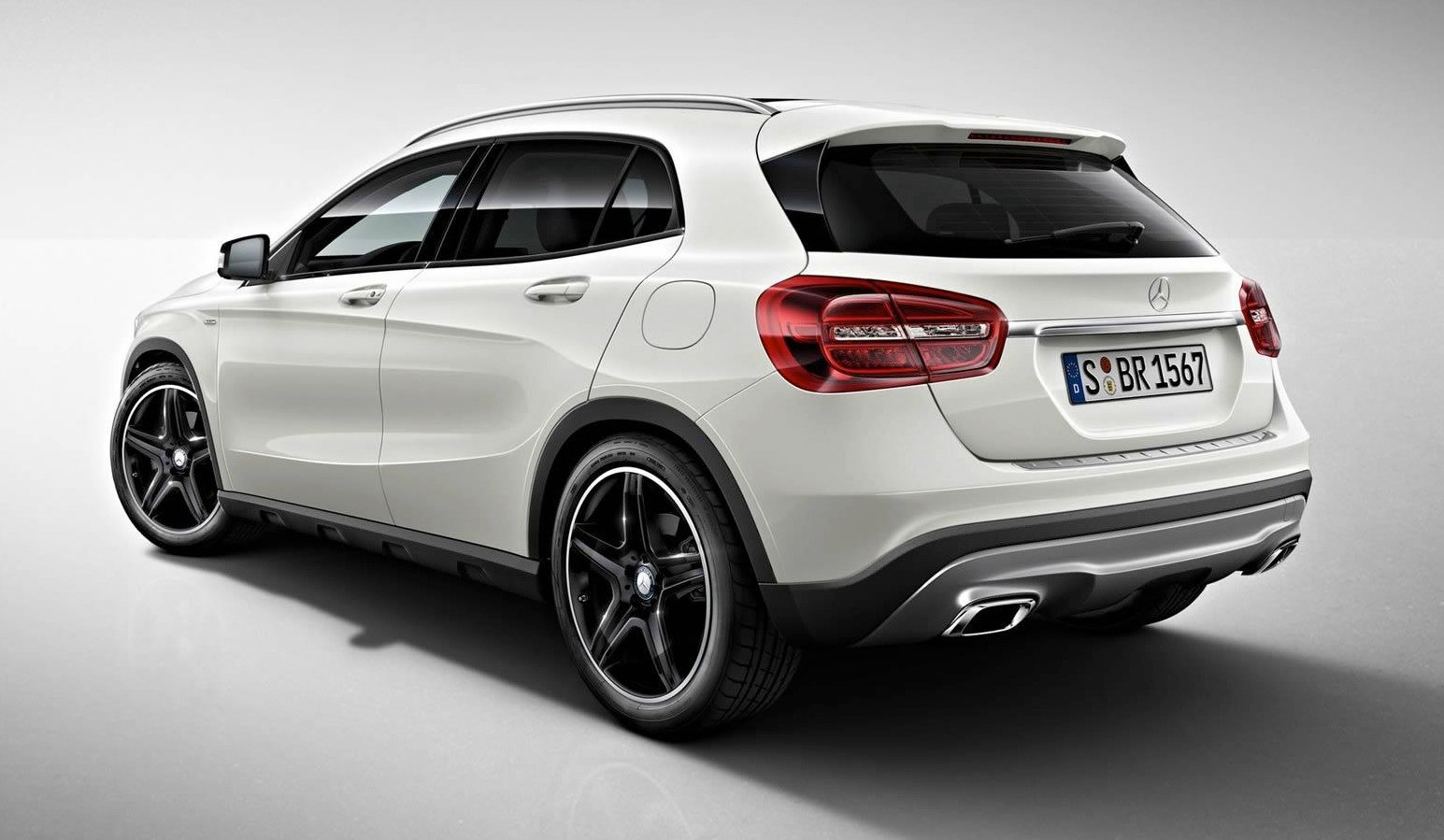 Mercedes benz gla edition 1 limited edition compact suv for Mercedes benz compact car