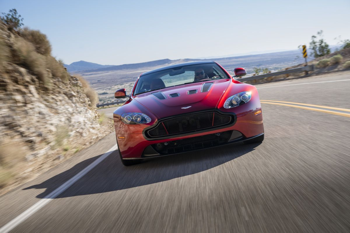 Excellent Aston Martin V12 Vantage S Review  CarAdvice