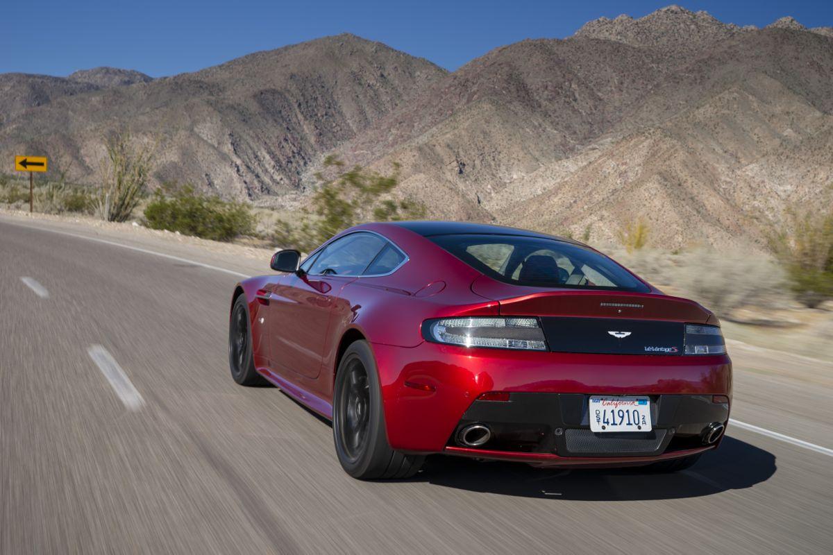 Unique Aston Martin V12 Vantage S Review  CarAdvice
