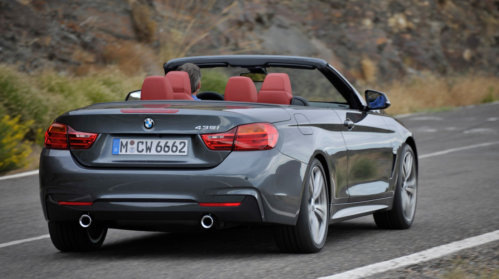 bmw 4 series convertible revealed - photos (1 of 11)