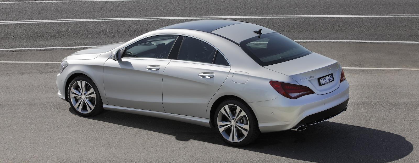 Mercedes benz cla class review cla200 caradvice for 2013 mercedes benz cla class