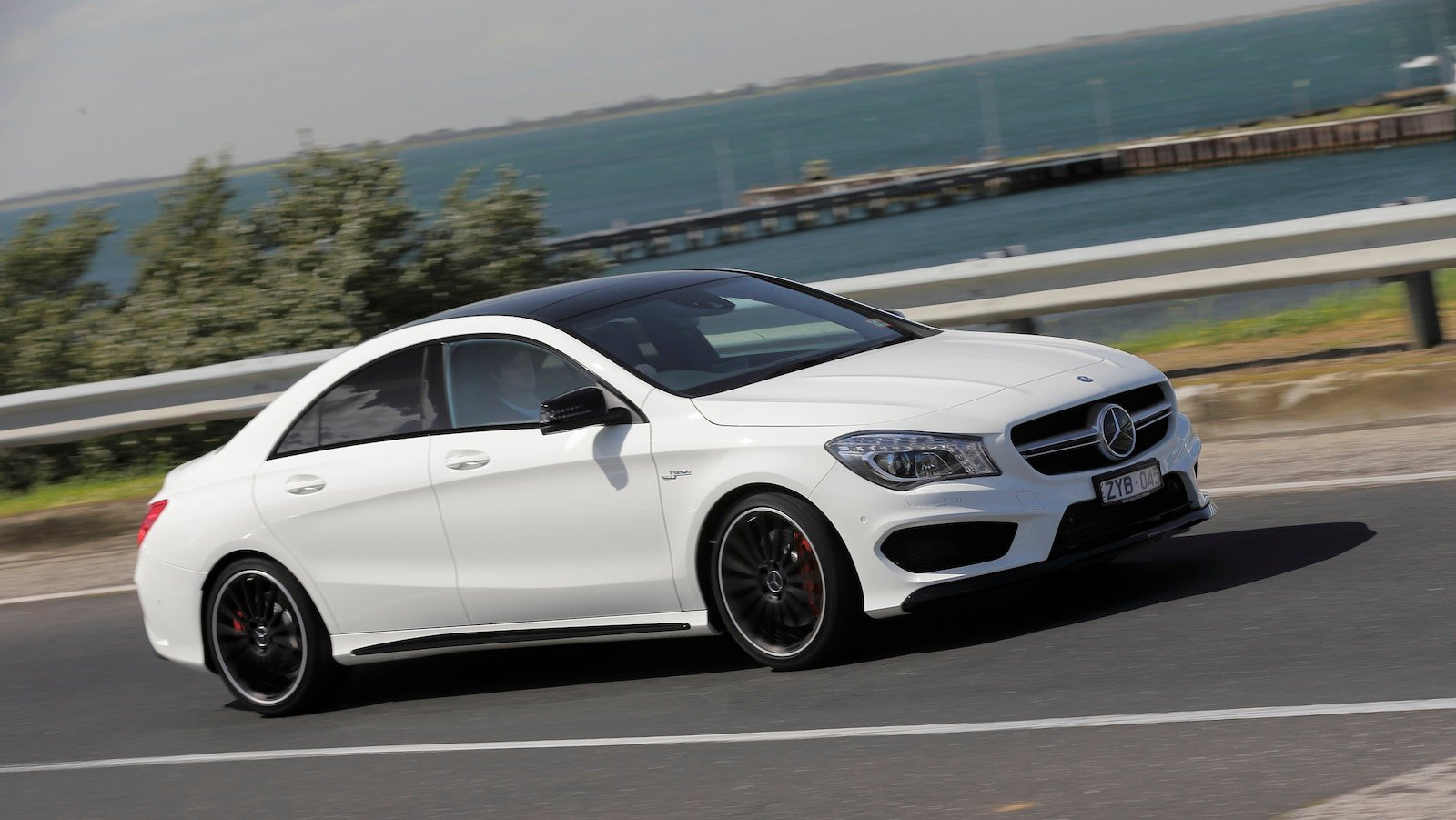 Mercedes benz cla45 amg review caradvice for Pictures of a mercedes benz