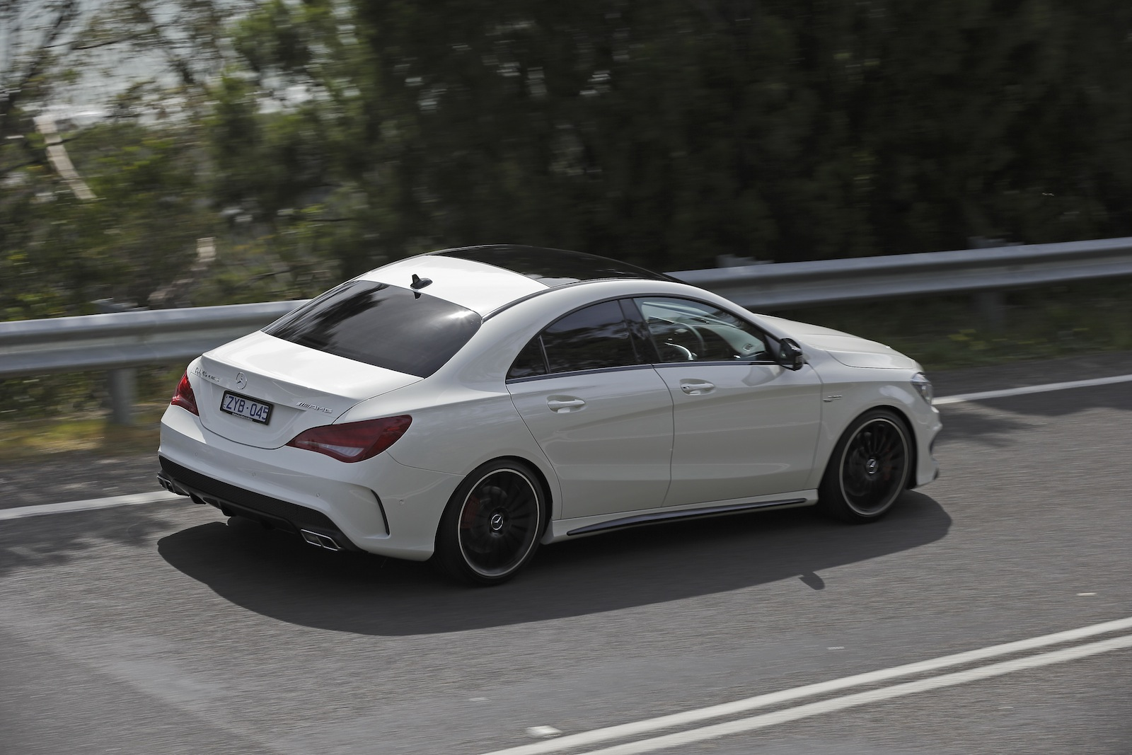 mercedes benz cla45 amg review caradvice. Cars Review. Best American Auto & Cars Review