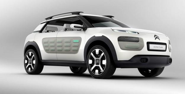 Citroen C4 Cactus To Retain Concept S Air Bumps Bench