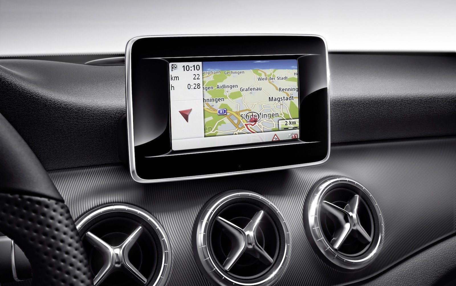 mercedes benz to offer google glass navigation app. Black Bedroom Furniture Sets. Home Design Ideas
