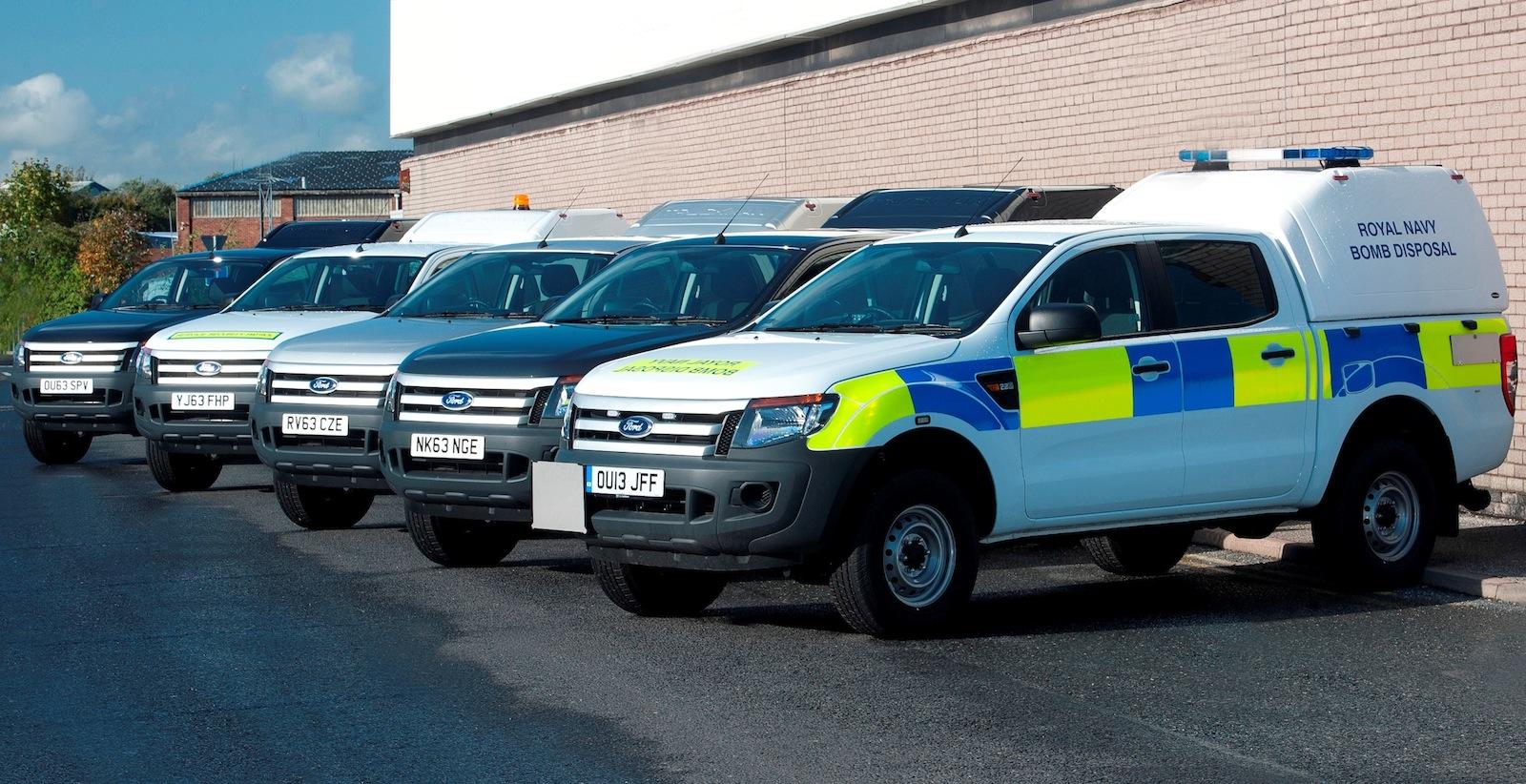 Ford ranger australian developed ute joins uk military fleet photos 1 of 3