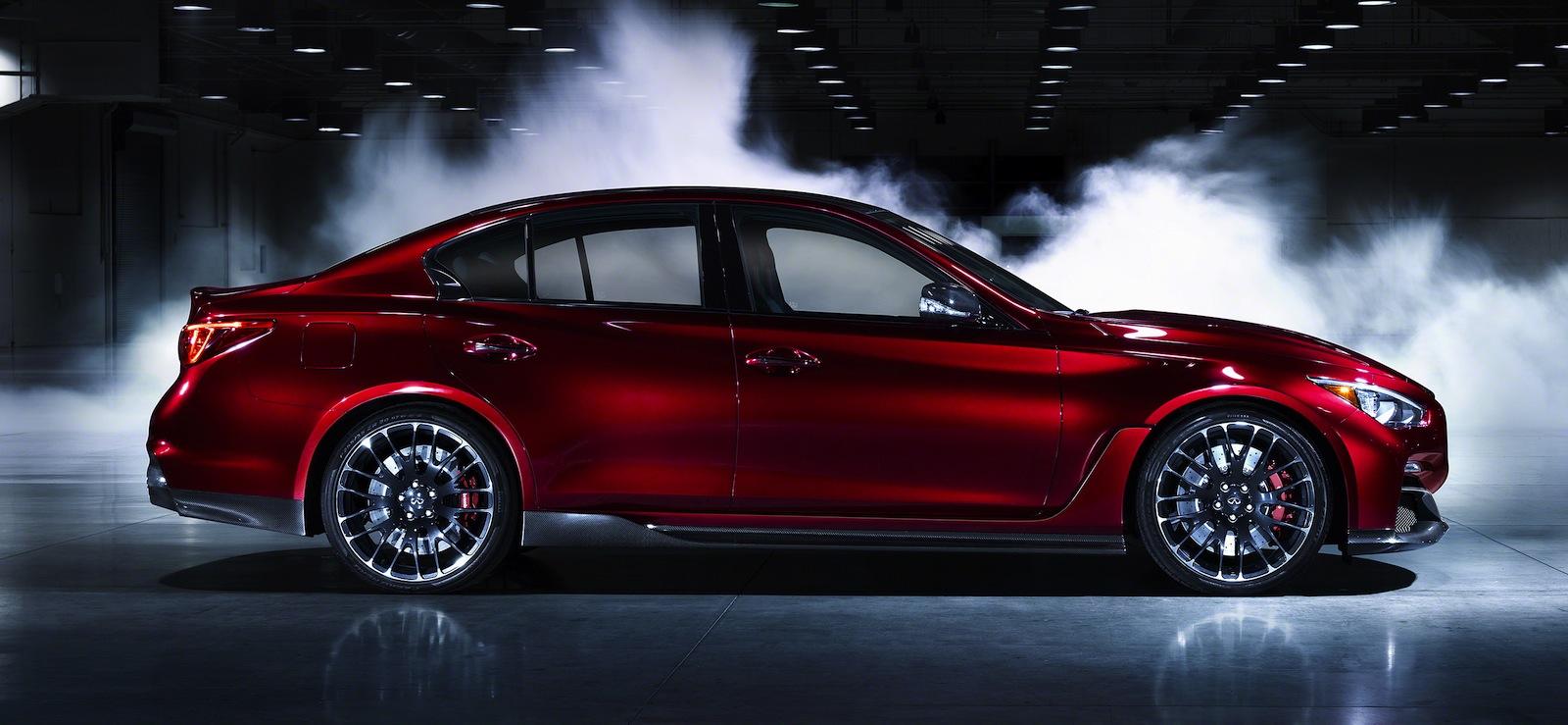 Infiniti q50 eau rouge concept teases potential 372kw 812nm sports sedan