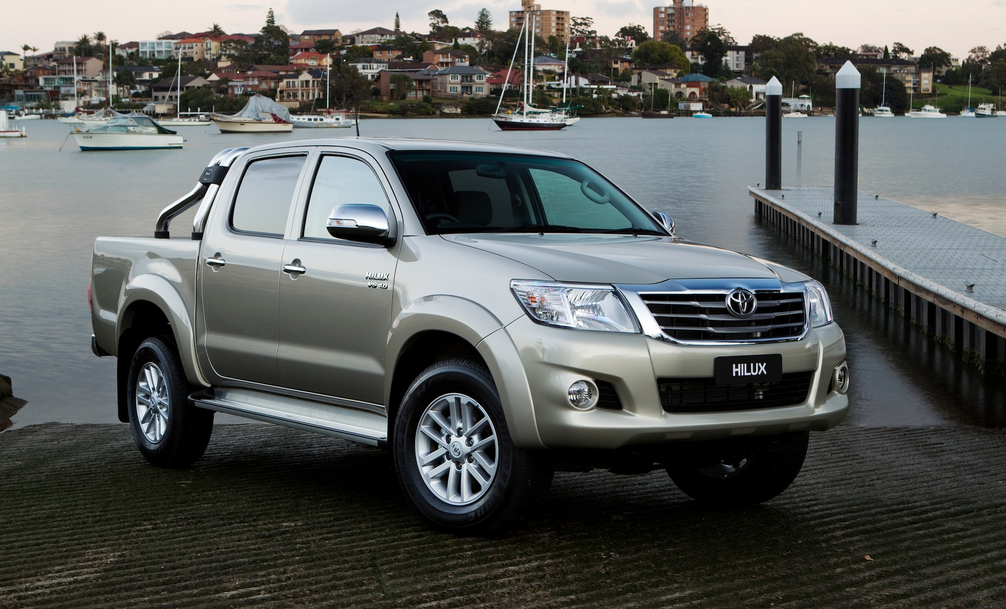 2014 toyota hilux new auto safety upgrades price rises for double cab ute photos 1 of 2. Black Bedroom Furniture Sets. Home Design Ideas