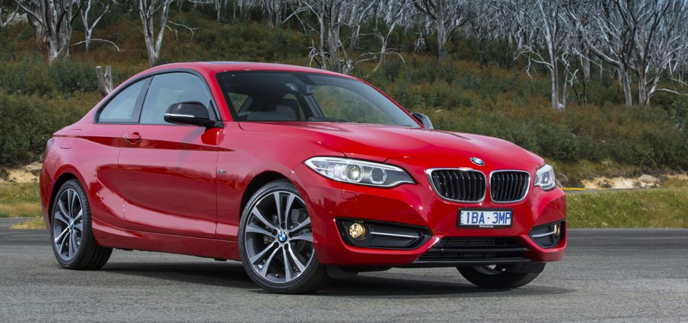 next bmw 2 series could retain rear wheel drive add gran coupe model report photos 1 of 3. Black Bedroom Furniture Sets. Home Design Ideas