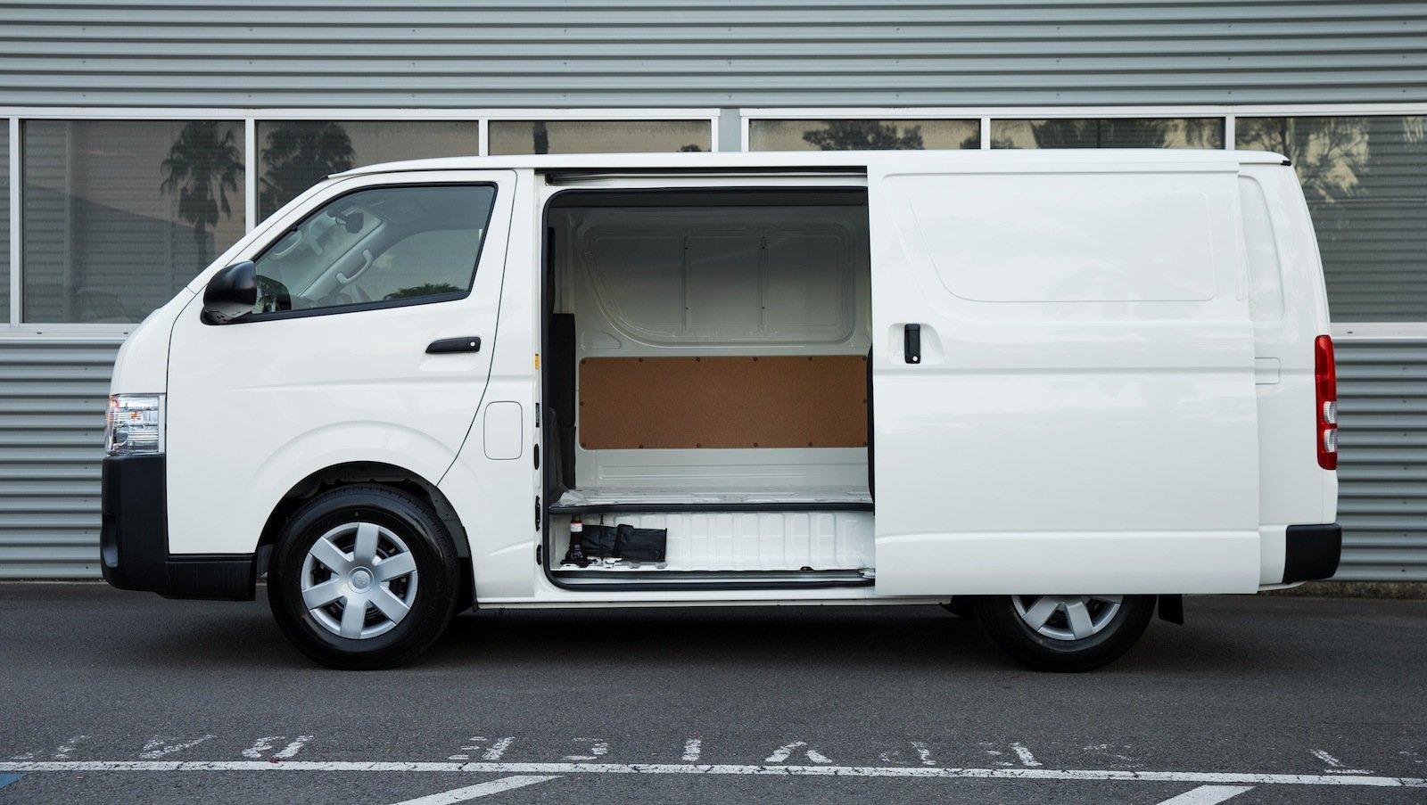 toyota hiace van prices autos post. Black Bedroom Furniture Sets. Home Design Ideas