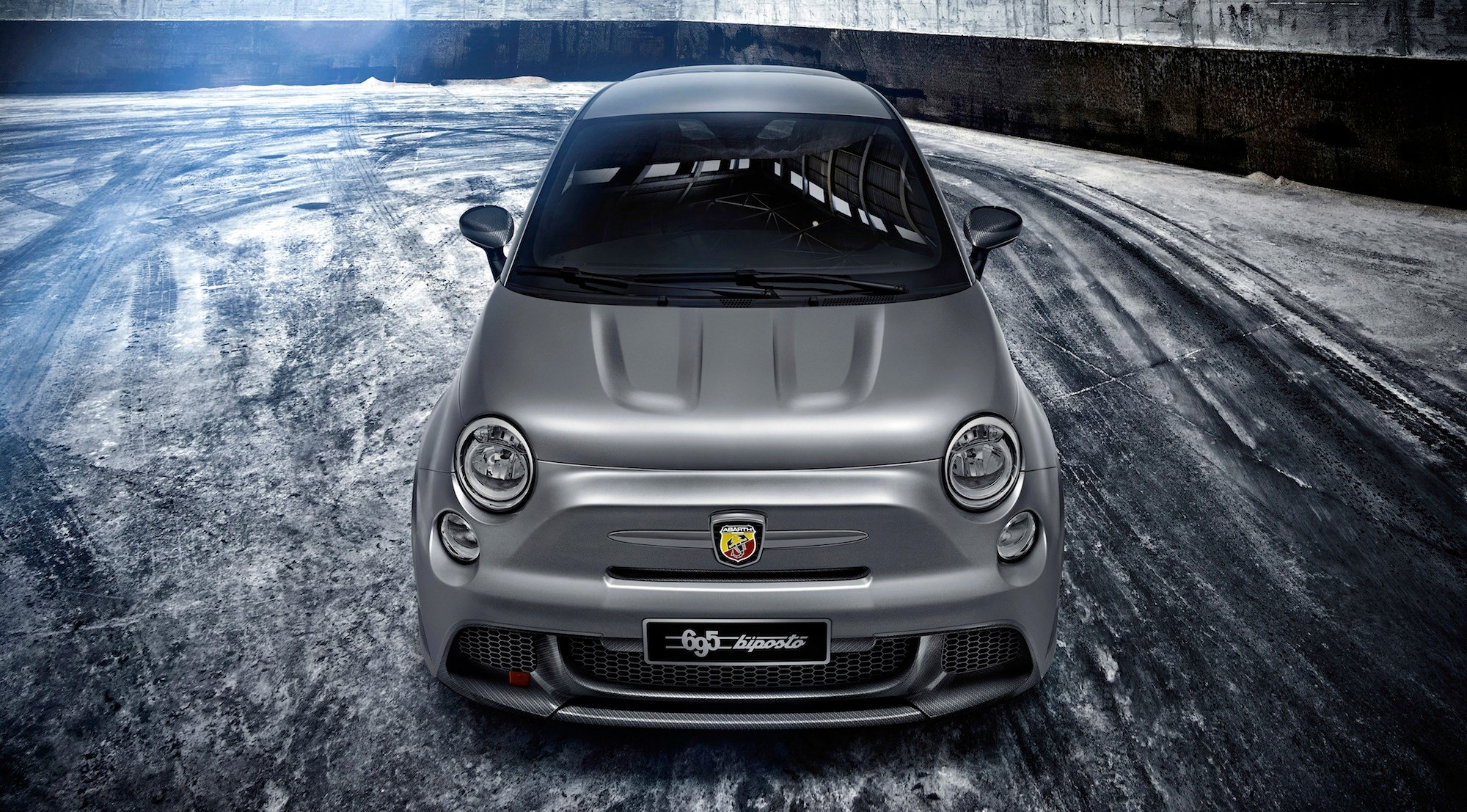 fiat abarth 695 biposto fastest ever street legal abarth revealed photos 1 of 5. Black Bedroom Furniture Sets. Home Design Ideas