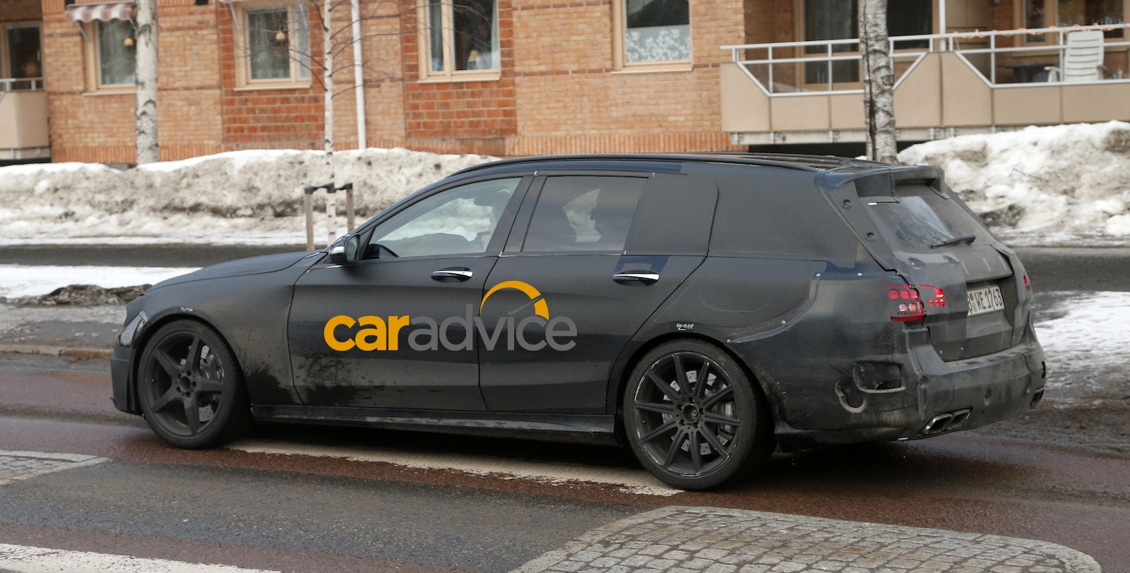 2015 mercedes benz c63 amg estate spied photos 1 of 13 for Mercedes benz estate cars