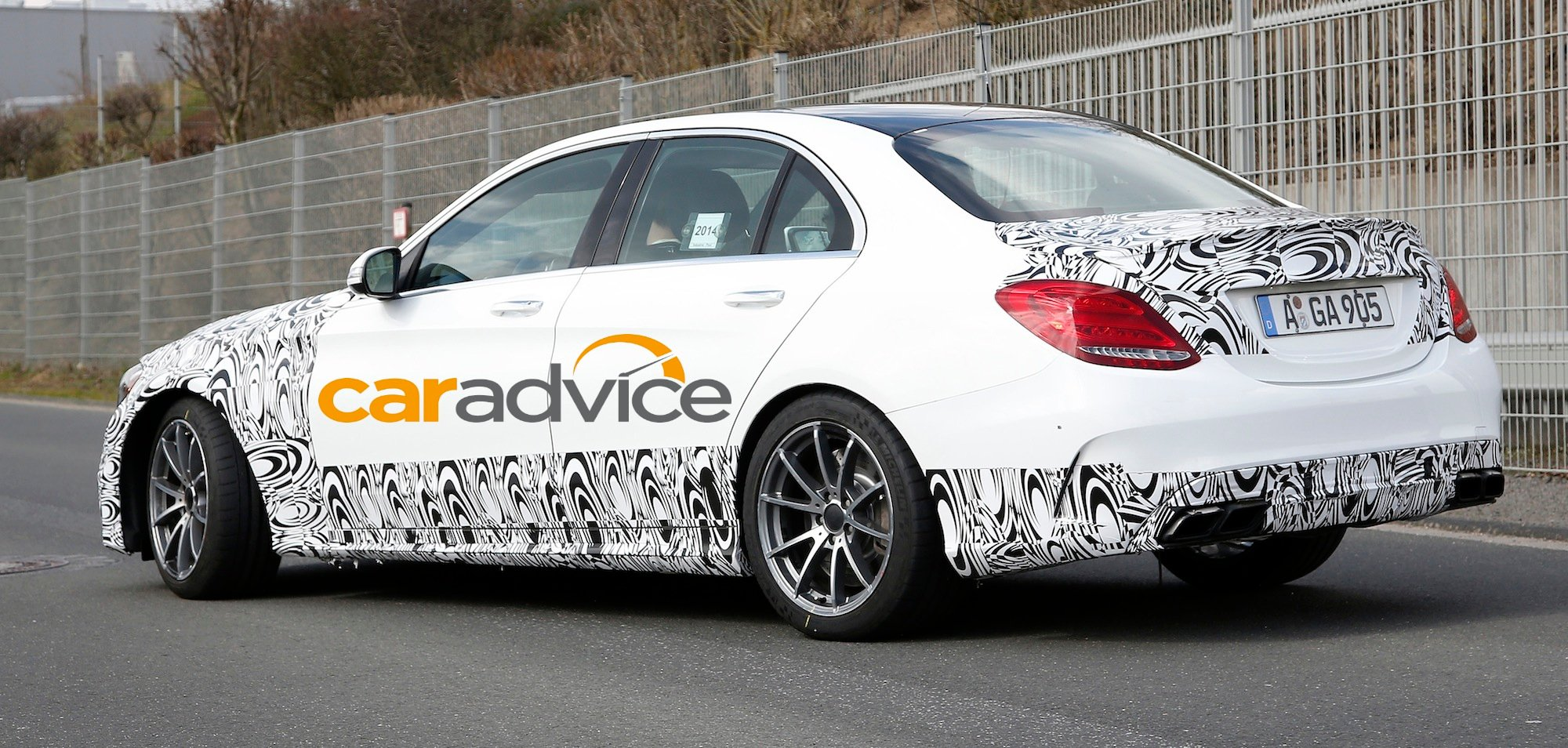 2015 mercedes benz c63 amg m3 rival spied photos 1 of 6 for 2015 amg c63 mercedes benz