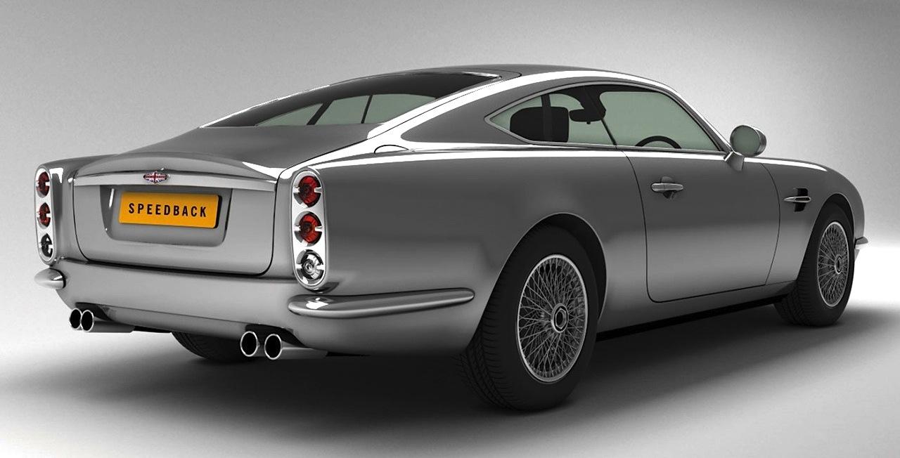 David Brown Automotive Speedback Modern Day Db5 Revealed