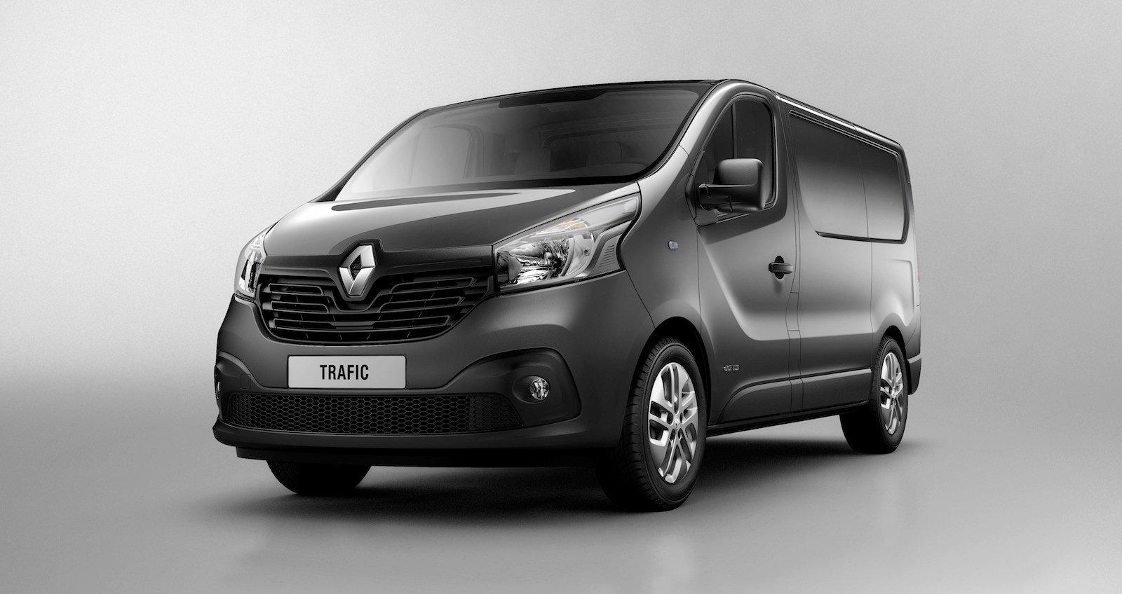 Renault Trafic van revealed - Photos (1 of 5)  Renault Trafic ...