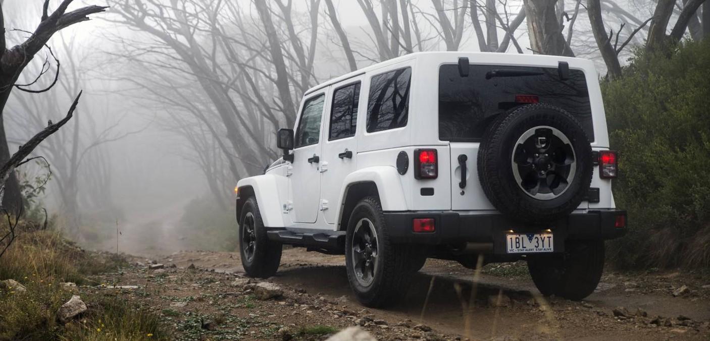 jeep wrangler polar edition arrives for winter photos 1 of 6. Black Bedroom Furniture Sets. Home Design Ideas