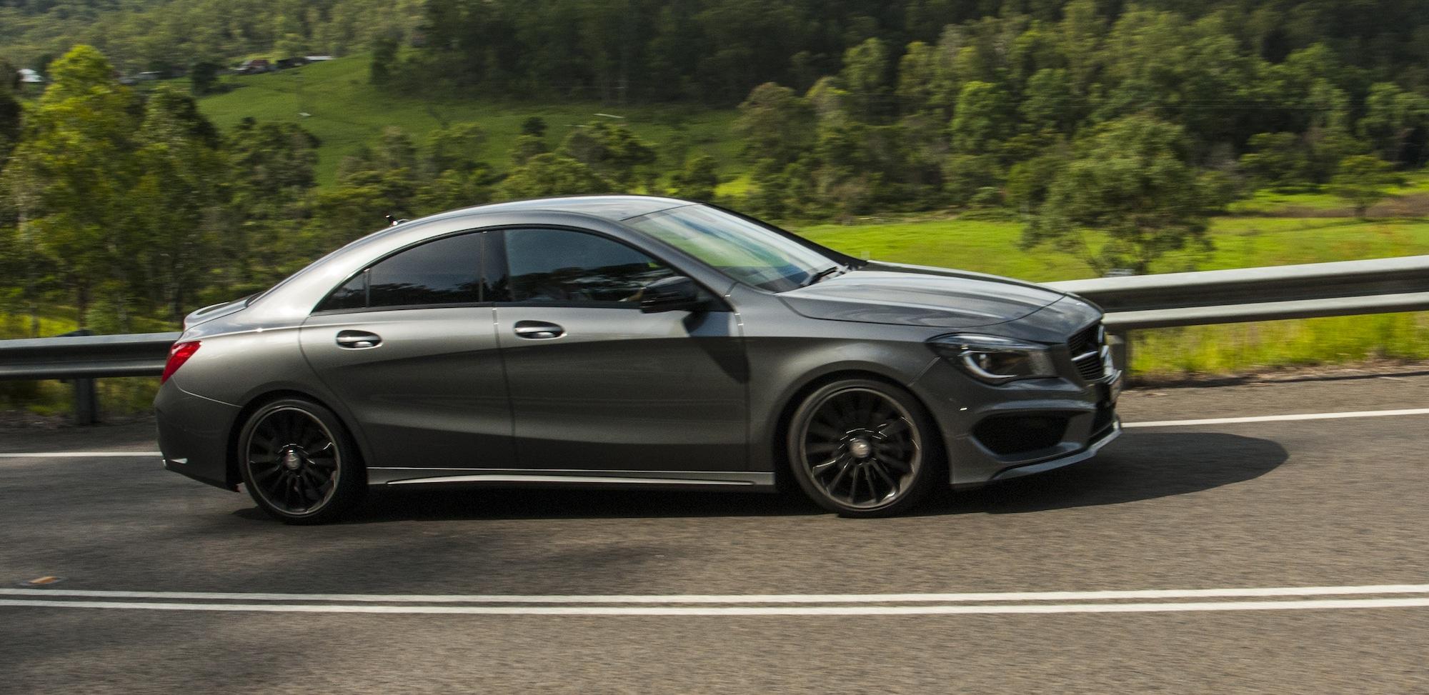 Audi a3 sedan v mercedes benz cla class comparison for Mercedes benz cla review