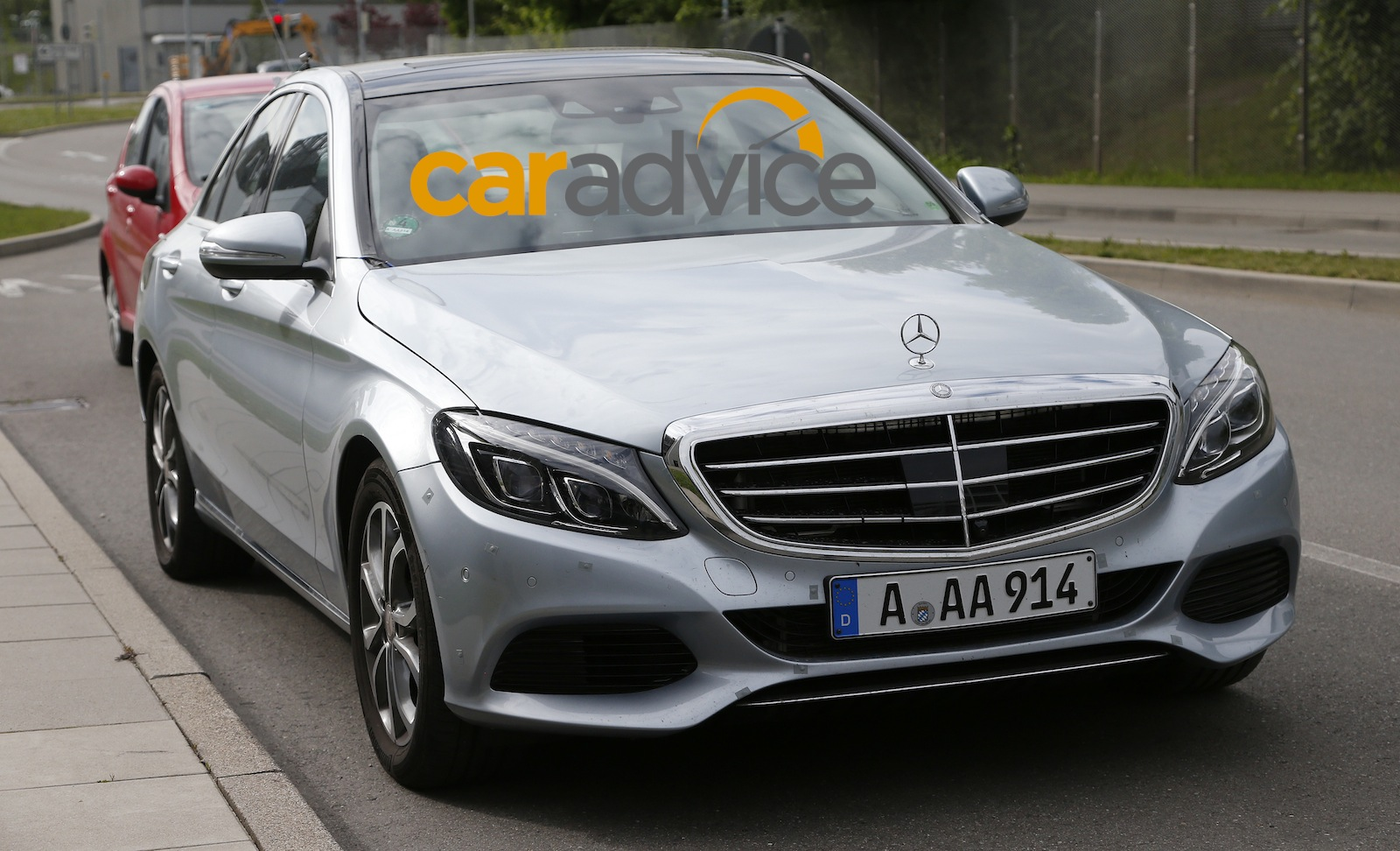 2015 mercedes benz c350 plug in hybrid spied photos 1 of 9 for Mercedes benz hybrid cars