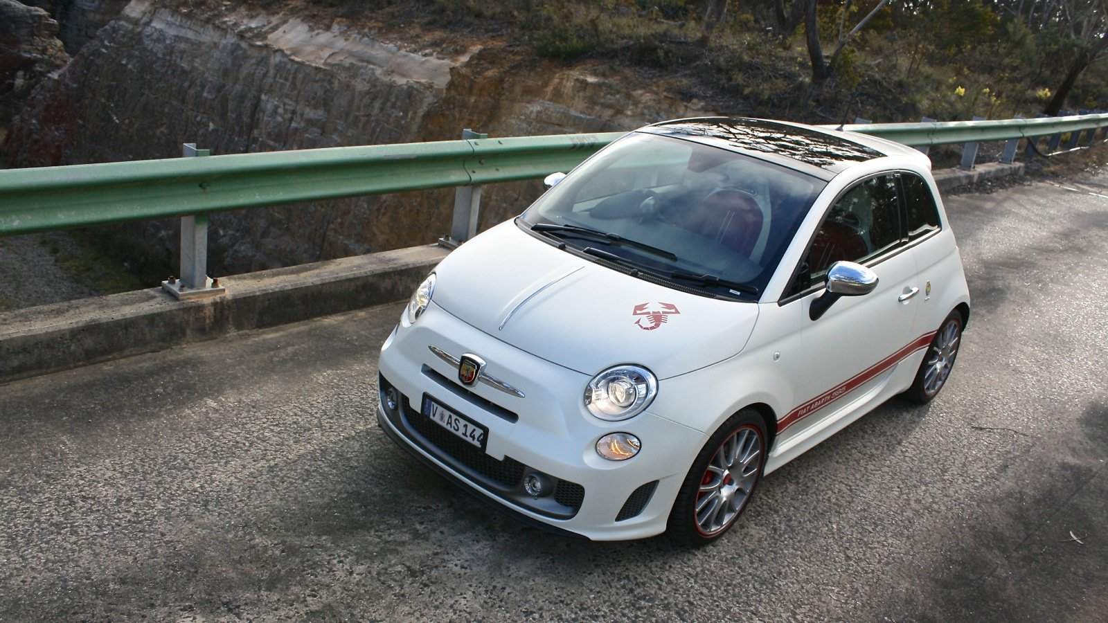 fiat abarth 595 50th anniversary review caradvice. Black Bedroom Furniture Sets. Home Design Ideas
