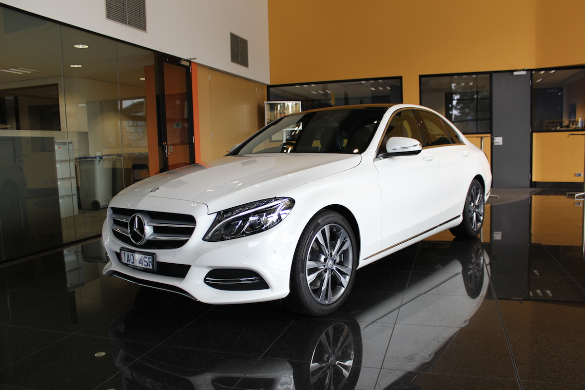 mercedes benz c class pricing and specifications priced from 60 900 photos 1 of 8. Black Bedroom Furniture Sets. Home Design Ideas