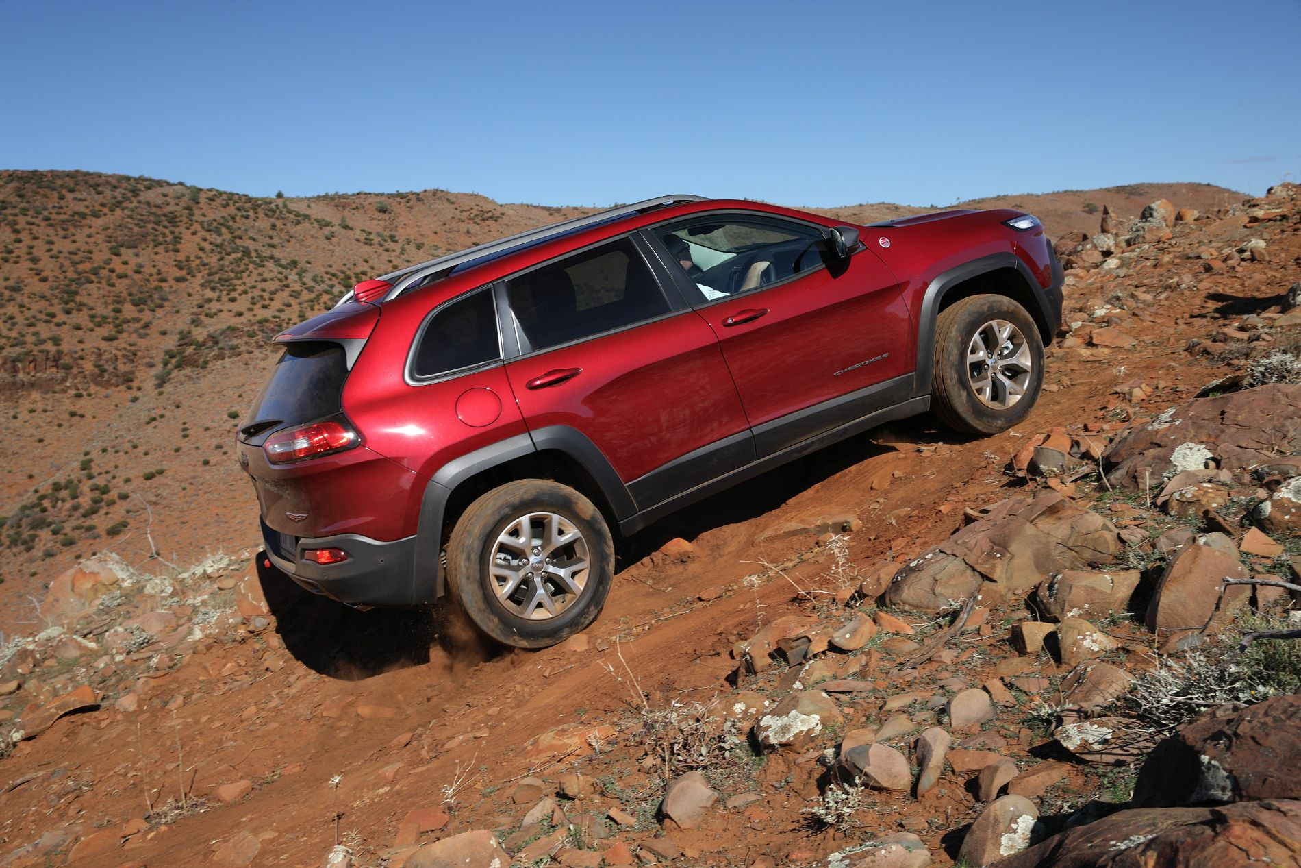 2014 jeep cherokee trailhawk review off road caradvice. Cars Review. Best American Auto & Cars Review