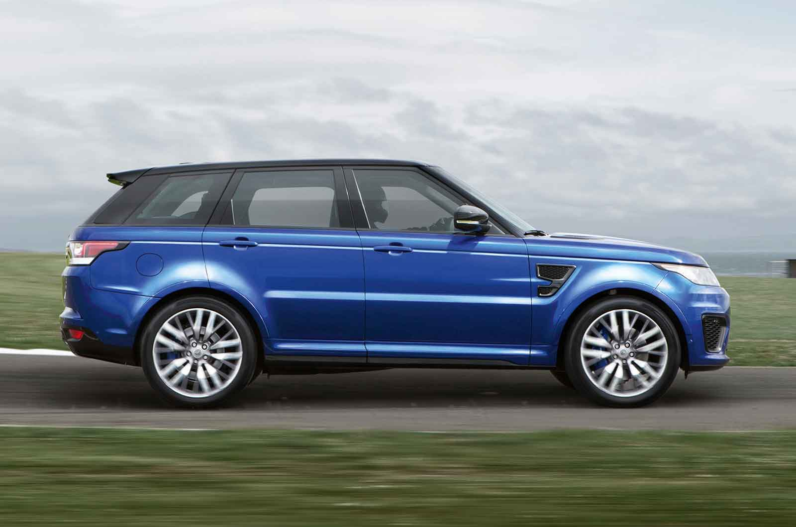 Image 7 Of 50 2018 Range Rover Sport Svr Revealed Photos 1 Of