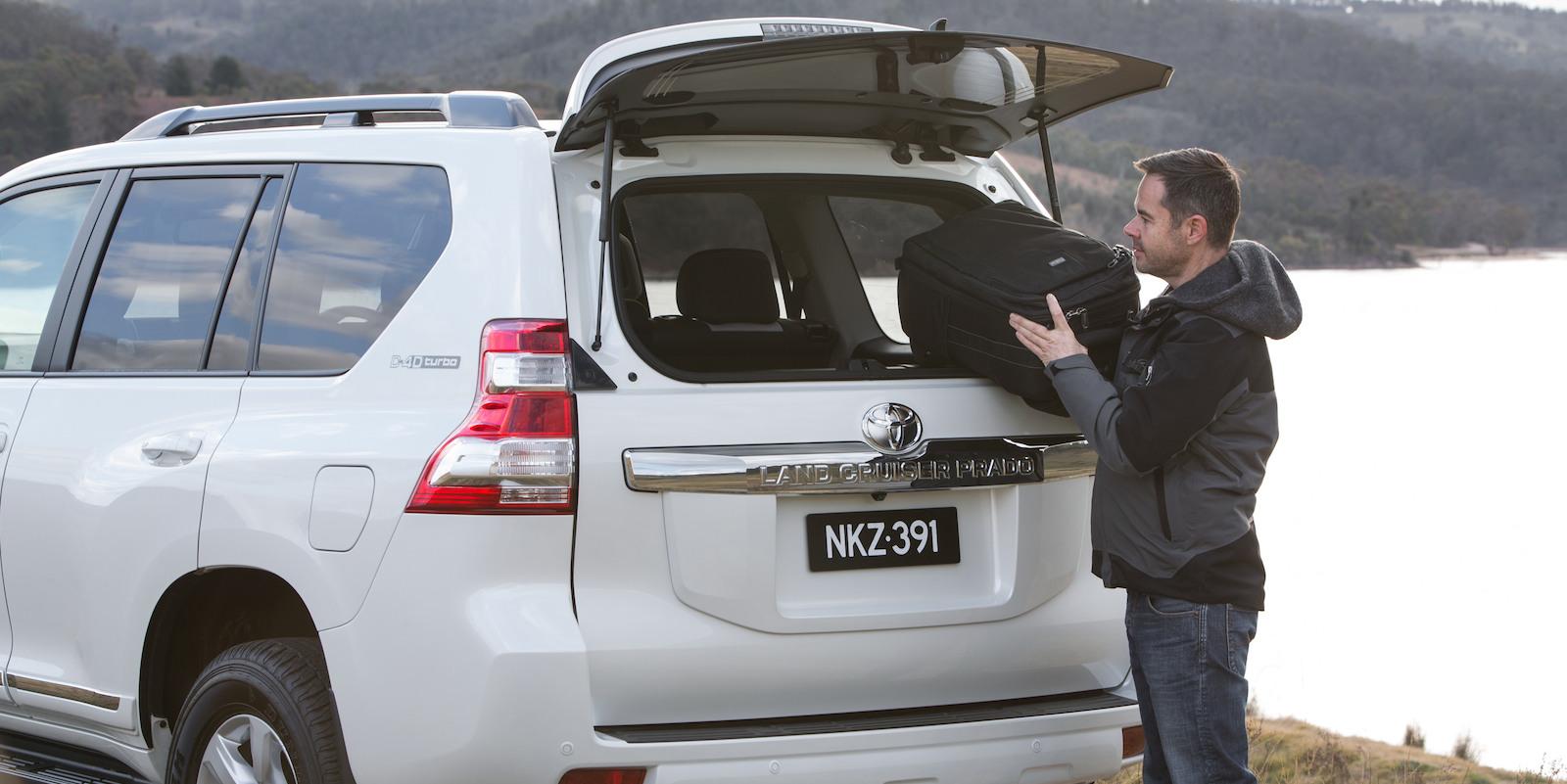 2014 Toyota Landcruiser Prado Altitude Clean Tailgate