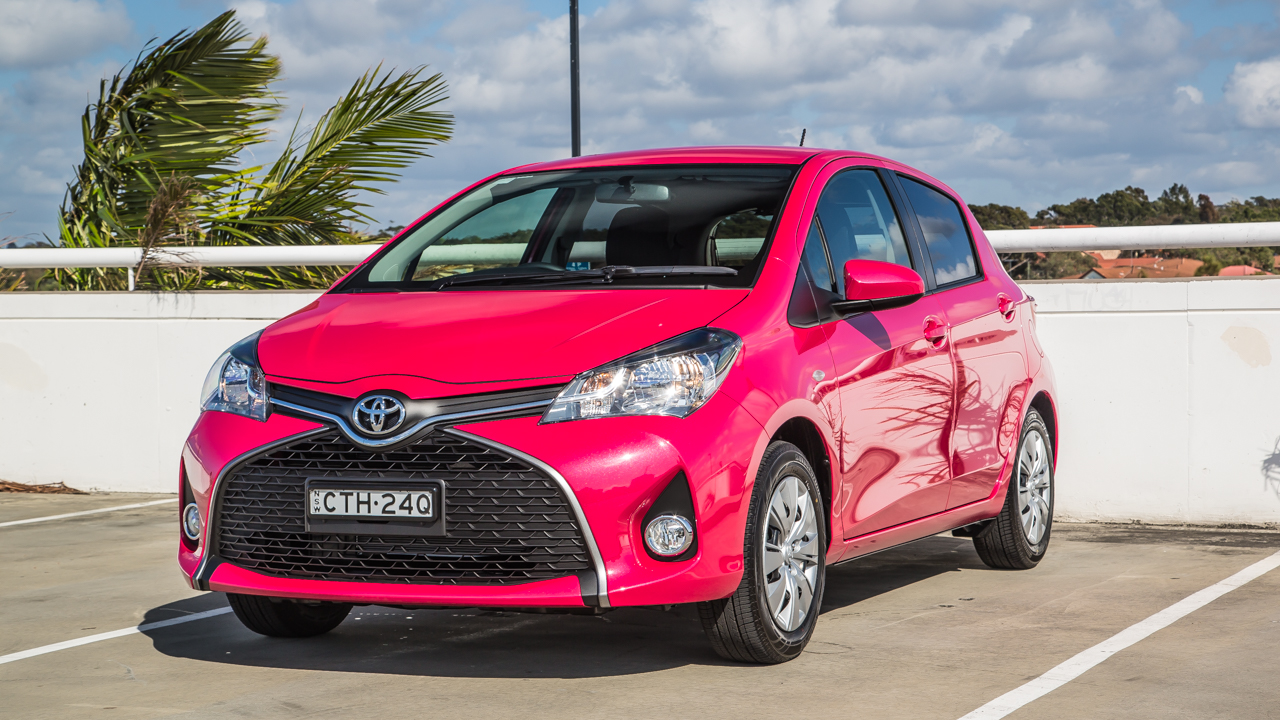 2015 toyota yaris review caradvice. Black Bedroom Furniture Sets. Home Design Ideas