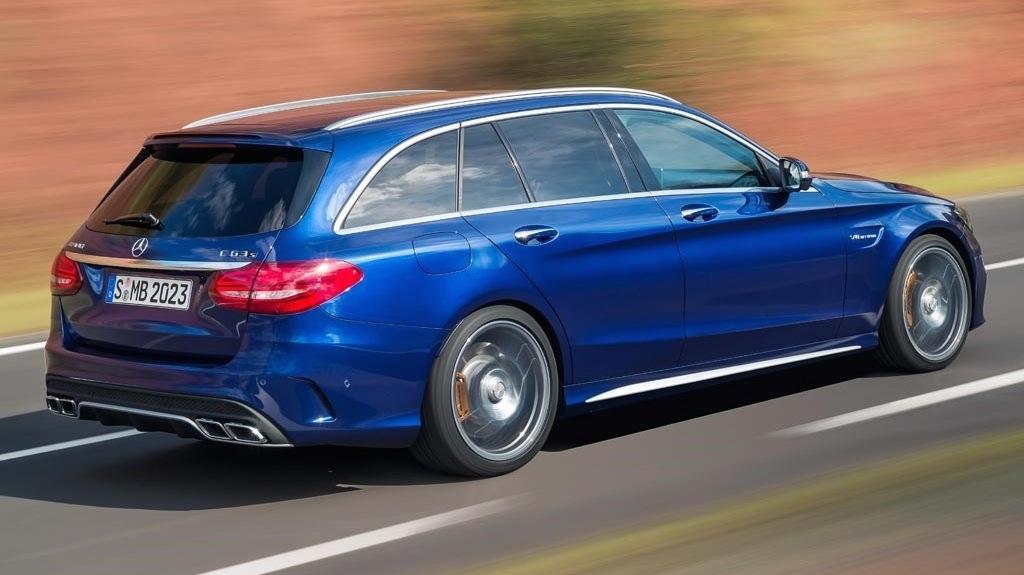 2015 mercedesbenz c63 amg s revealed sedan and wagon