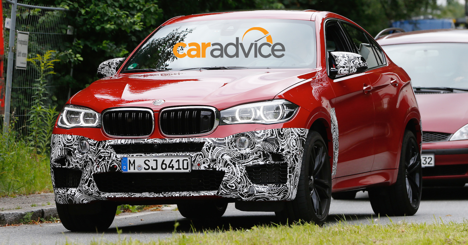 2015 Bmw X6 M New Performance Suv Drops Camouflage