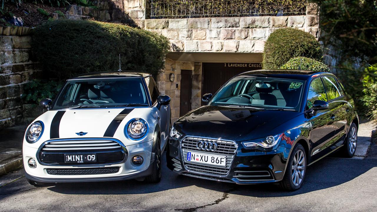 Audi A1 V Mini Cooper Comparison Review Photos 1 Of 65