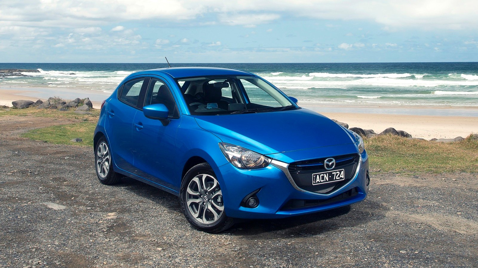 2015 mazda 2 review first australian drive caradvice. Black Bedroom Furniture Sets. Home Design Ideas