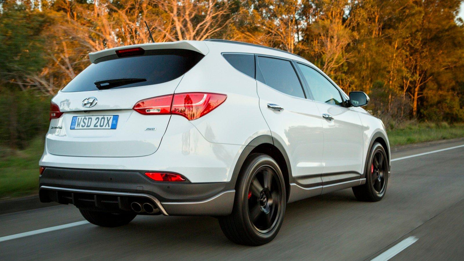 Santa Fe Ford >> 2015 Hyundai Santa Fe SR Review | CarAdvice