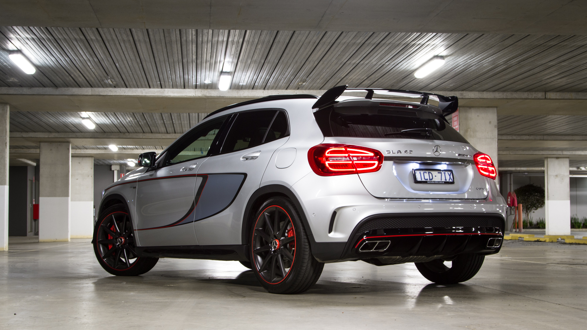 Mercedes benz gla45 week with review photos caradvice for Mercedes benz gla crossover
