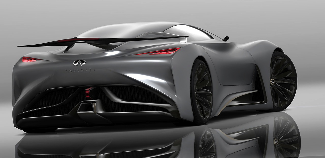 infiniti concept vision gran turismo v8 hybrid powered. Black Bedroom Furniture Sets. Home Design Ideas