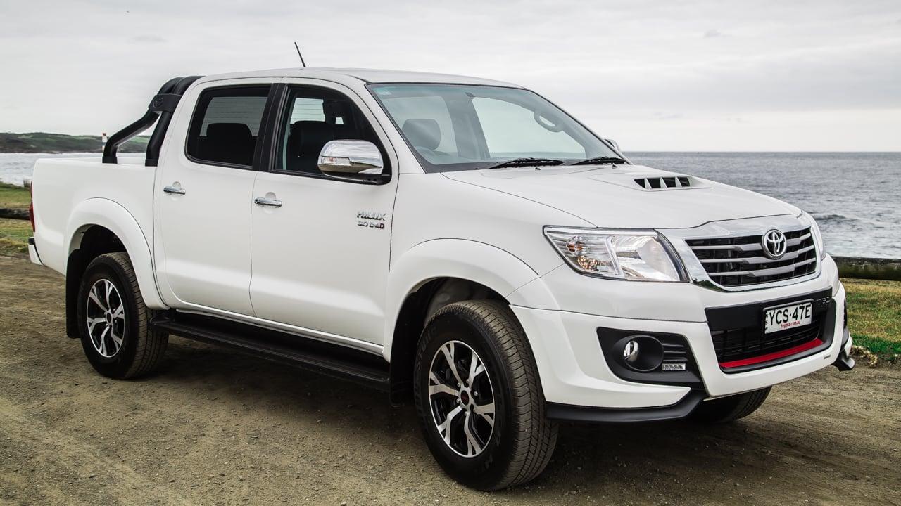 Unique 2015 Toyota HiLux Review Black Edition  CarAdvice