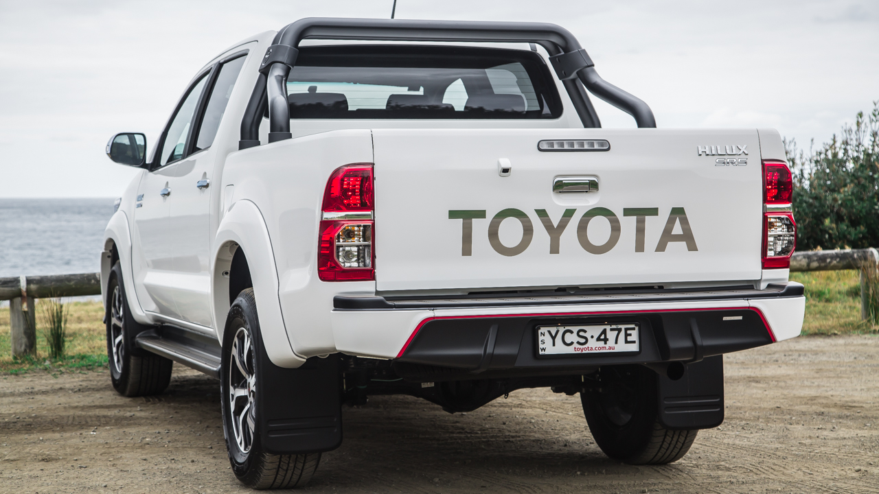 Wonderful 2015 Toyota HiLux Review Black Edition  CarAdvice