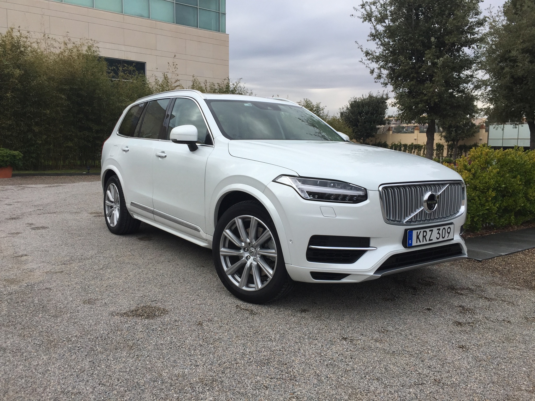 Volvo Xc90 2015 2015 Volvo Xc90 Revealed In Leaked Images