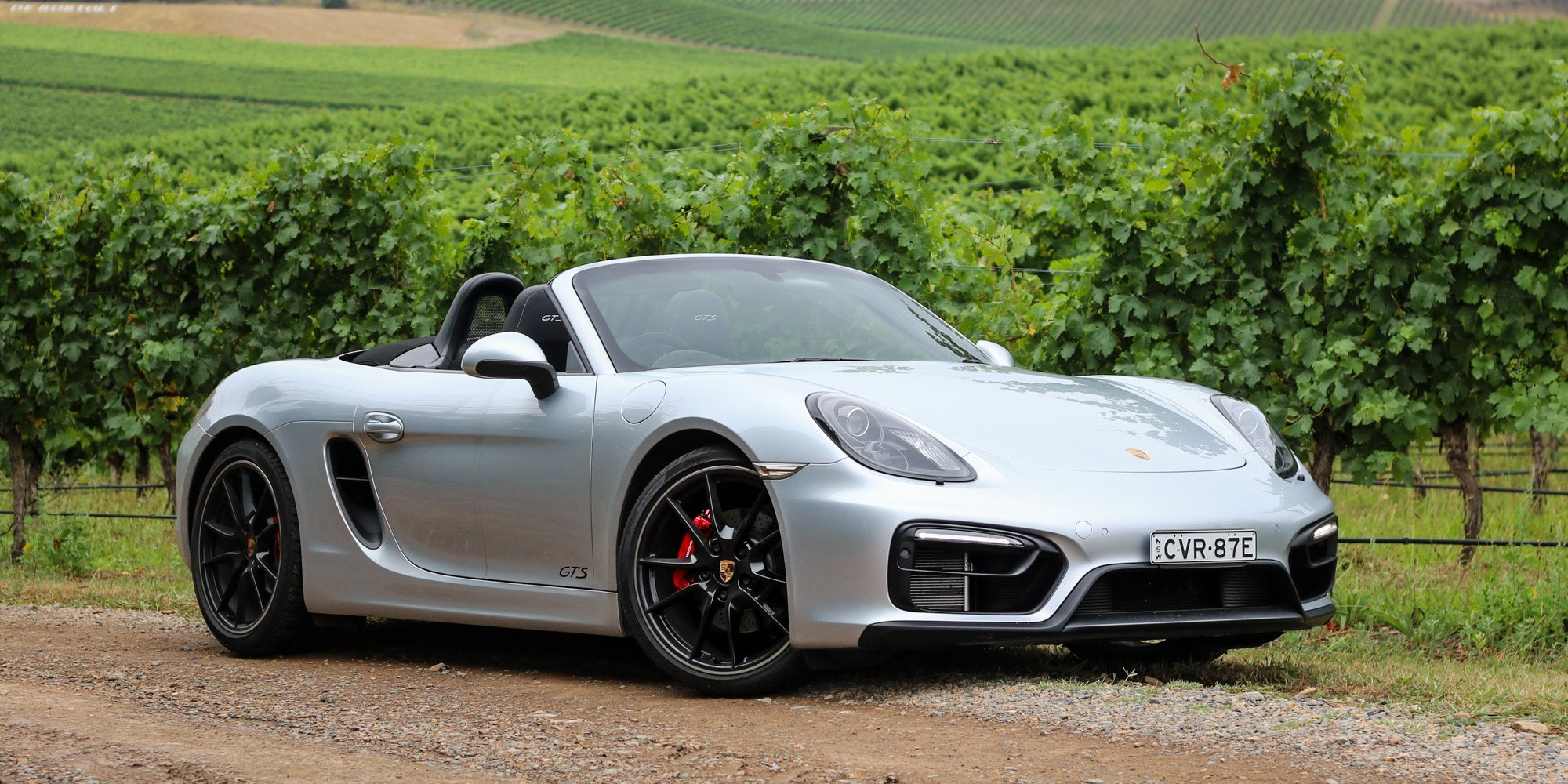 2015 porsche boxster gts review yarra valley weekender photos caradvice. Black Bedroom Furniture Sets. Home Design Ideas