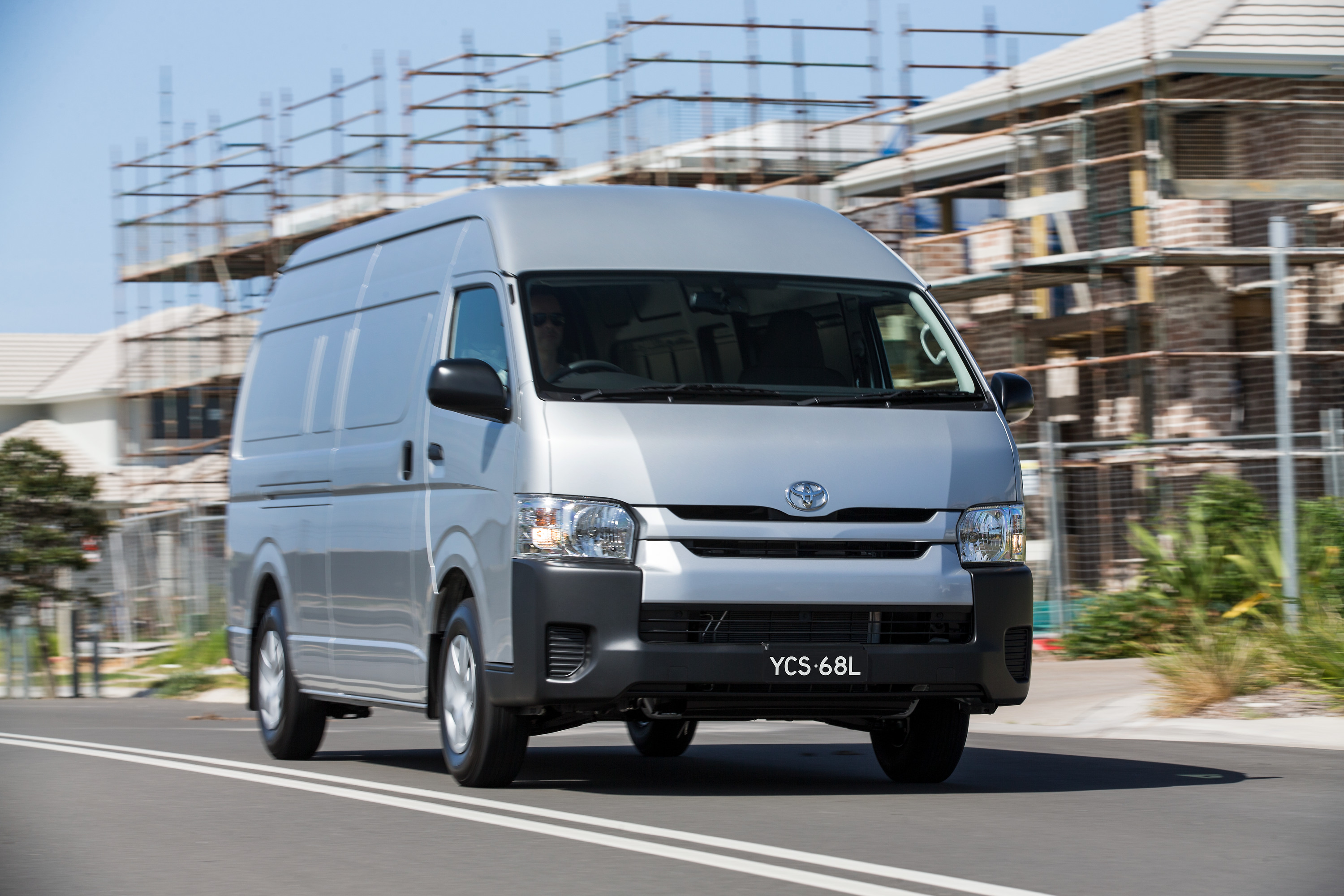 toyota hiace gets a range of updates photos 1 of 8. Black Bedroom Furniture Sets. Home Design Ideas