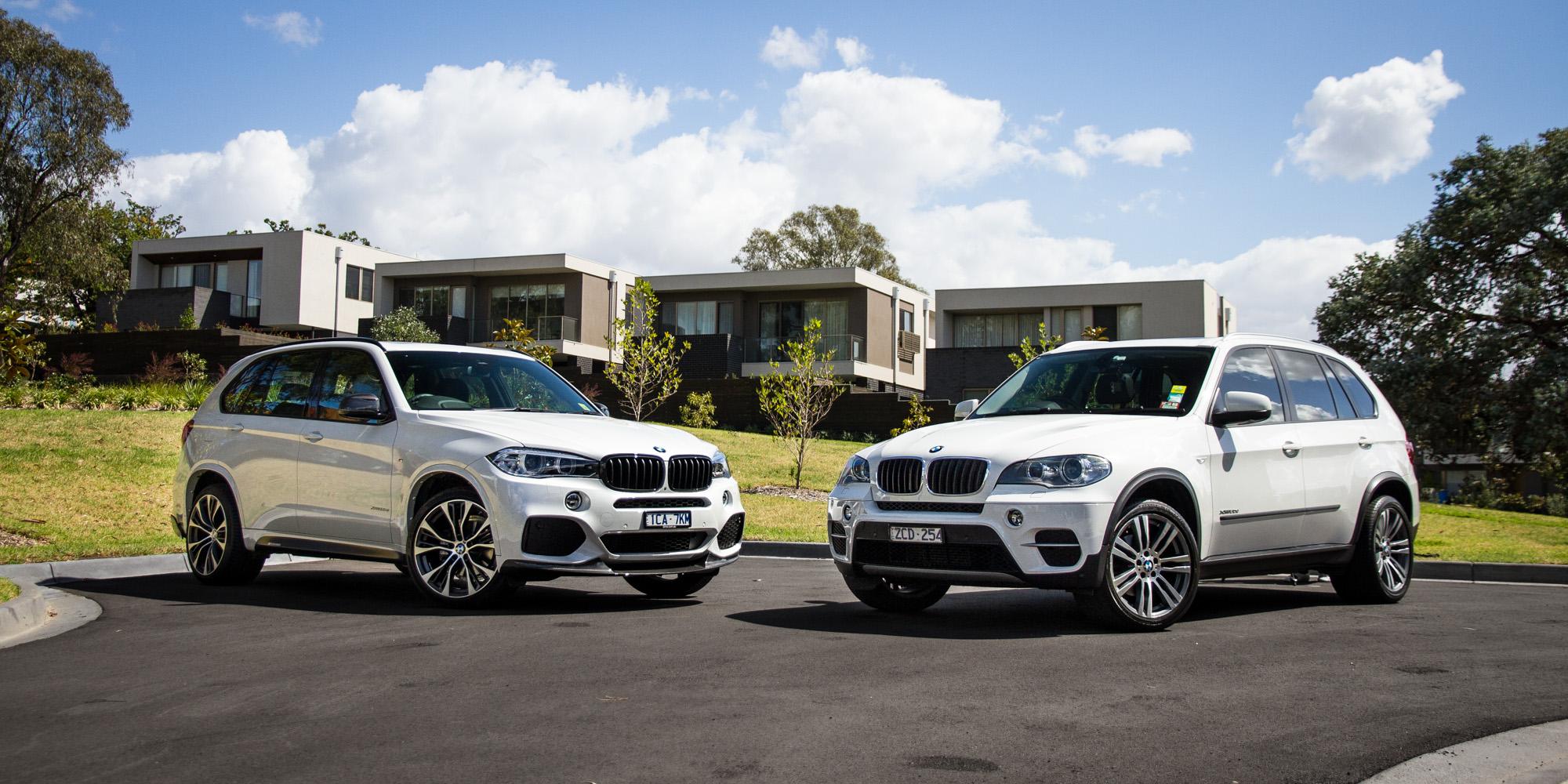 BMW X5 Old v New comparison: Second-generation E70 v third ...