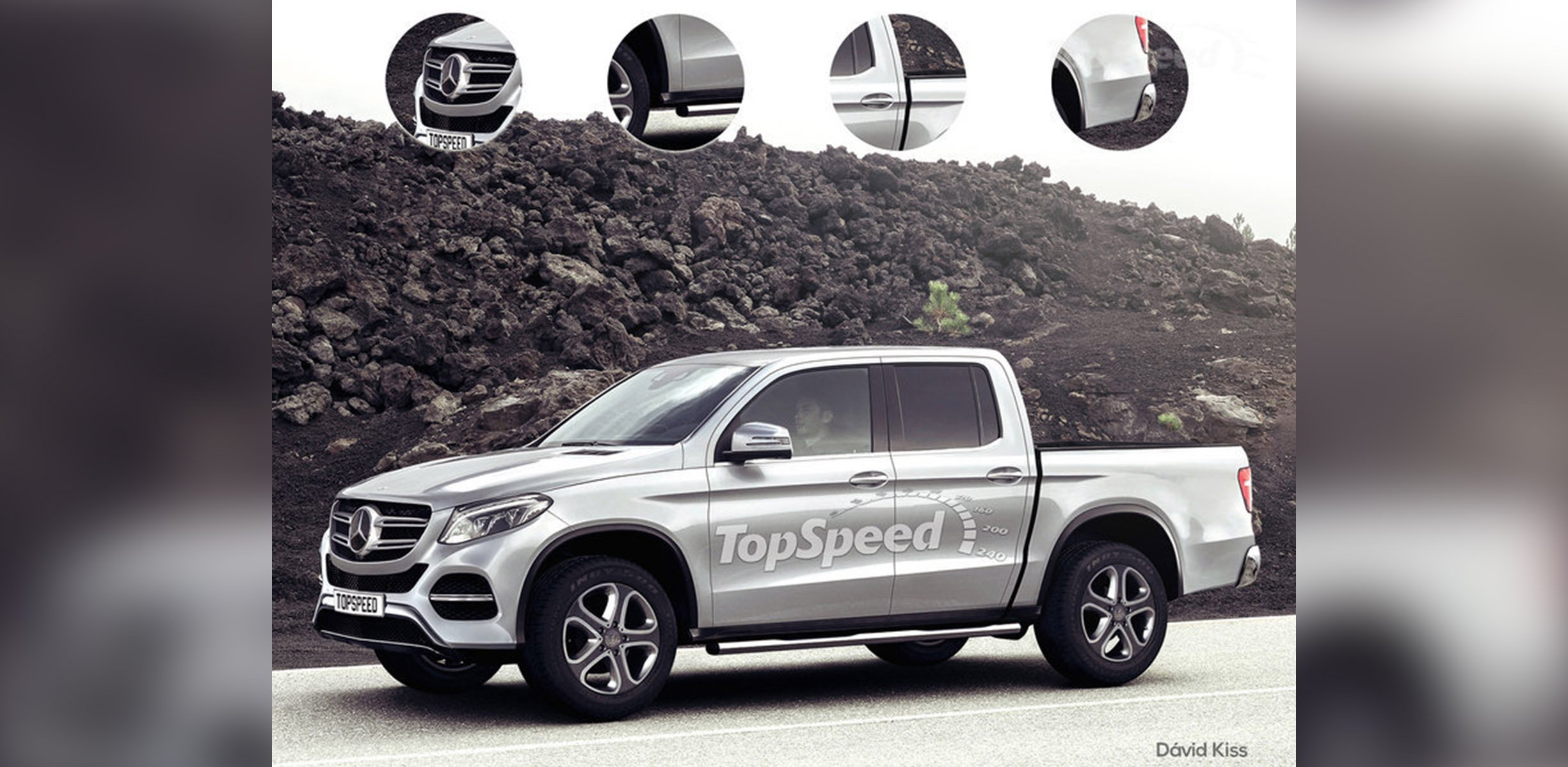 2018 mercedes benz ute. wonderful ute mercedesbenz ute will share components with navara be built by  renaultnissan  photos 1 of 2 throughout 2018 mercedes benz