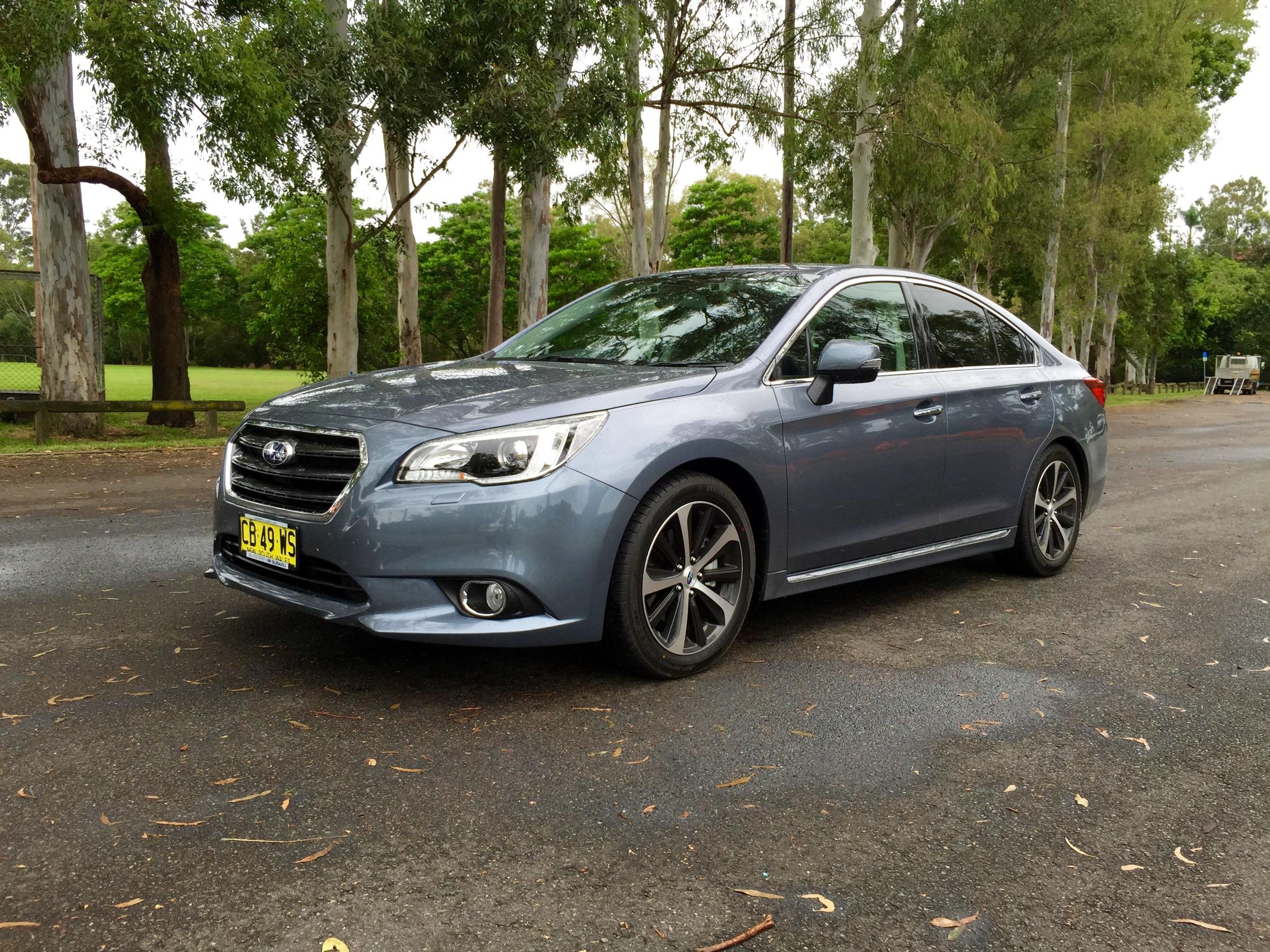 Elegant 2015 Subaru Liberty 36R Review  CarAdvice