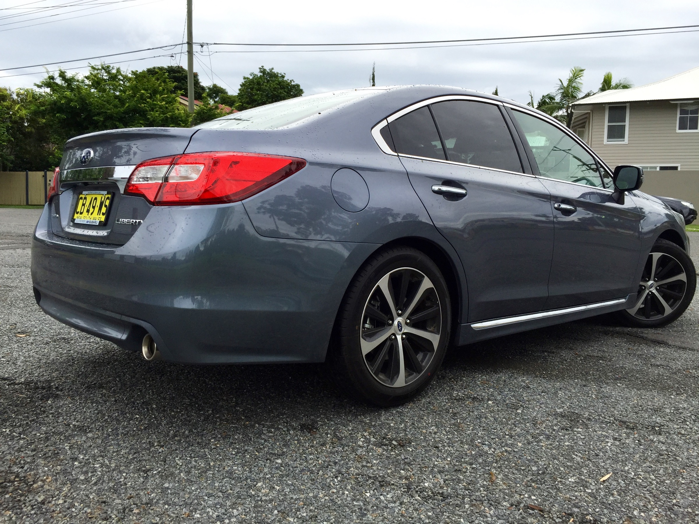 Creative 2015 Subaru Liberty 36R Review  CarAdvice