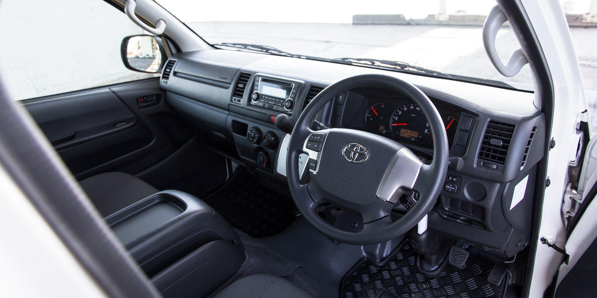 2015 Toyota Hiace Crew Van Review Caradvice