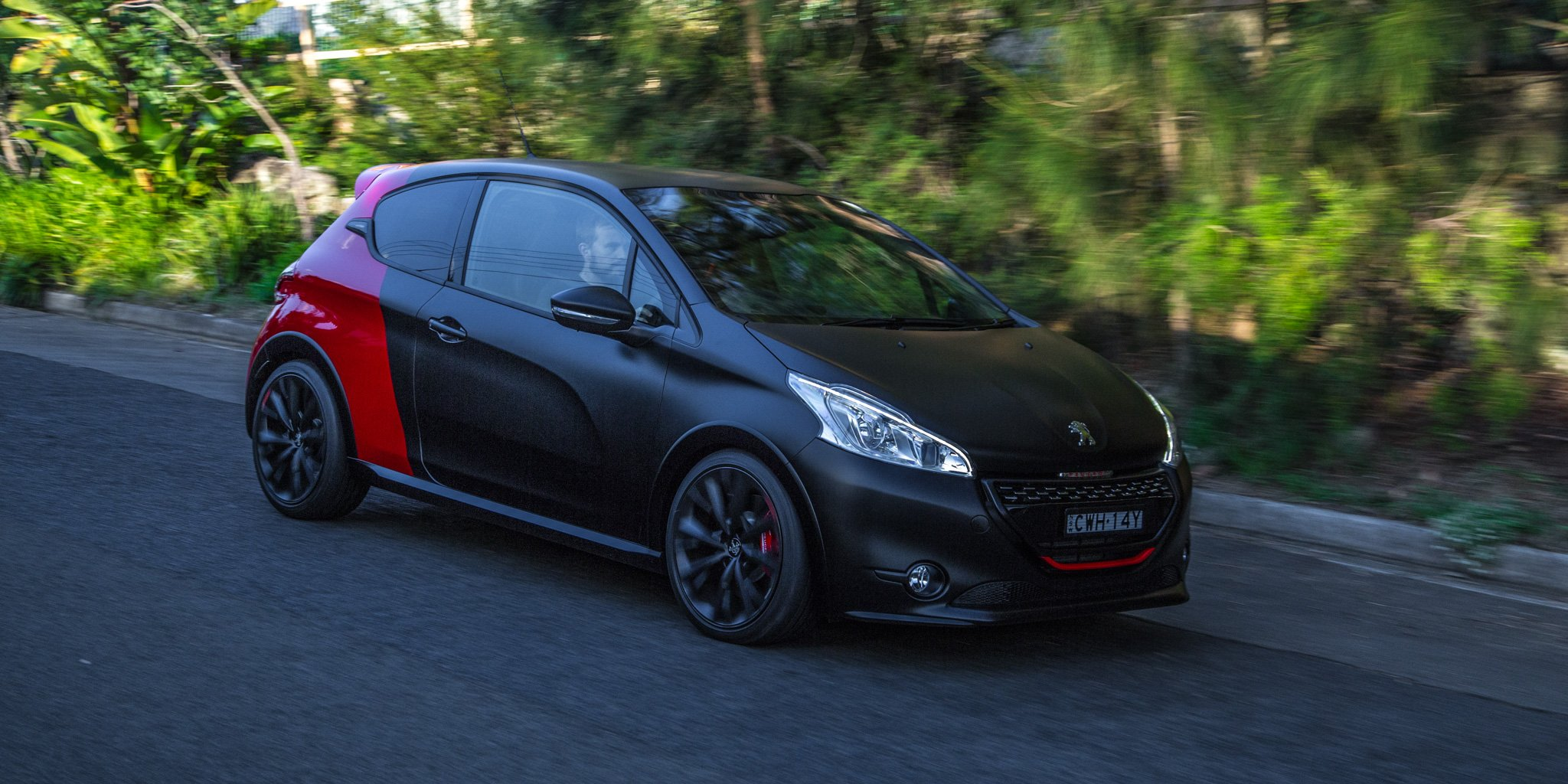 2015 peugeot 208 gti 30th anniversary edition review caradvice. Black Bedroom Furniture Sets. Home Design Ideas